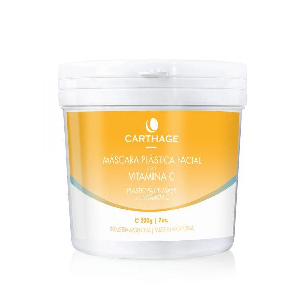 Carthage Máscara Plástica Facial con Vitamina C x200g